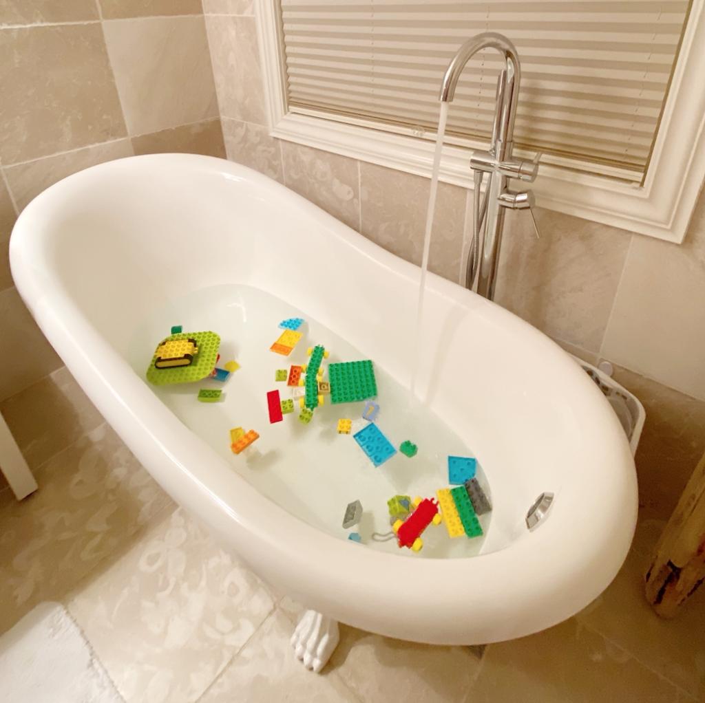 gøy i badekaret