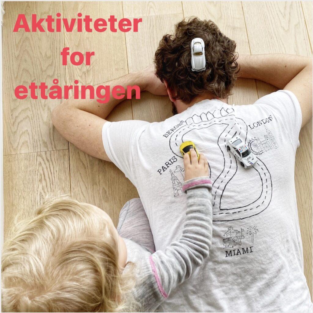 Aktiviteter for ettåringen